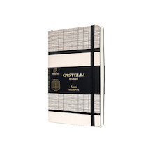 Castelli Tatami Pocket Notebook White Milk
