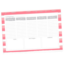 Dotty About Paper Desk Planner Earn Your Stripes