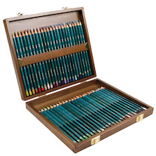 Derwent Artists Pencil Wooden Box of 48