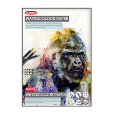 Derwent Watercolour Pad A4 Promotion