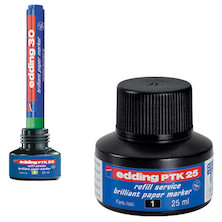 edding PTK25 Pigment Marker Pen Ink Refill Station 25ml