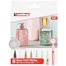 edding 751 Paint Marker Pen Assorted Set of 8