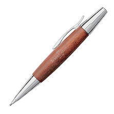 Faber-Castell e-motion Pencil Chrome and Wood