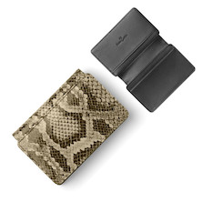 Faber-Castell Business Card Case Python Pattern