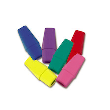 Faber-Castell Pencil Eraser Cap Assorted Pack
