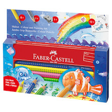 Faber-Castell Jumbo Grip Underwater World Colouring Set