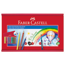 Faber-Castell Colour Grip Childrens Art Set