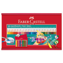 Faber-Castell Watercolour Pencil Gift Set