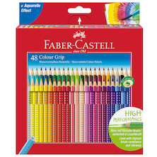 Faber-Castell Colour Grip Pencils Box of 48