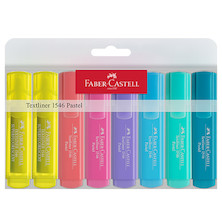 Faber-Castell Textliners 1546 Pastel Highlighter Wallet of 8