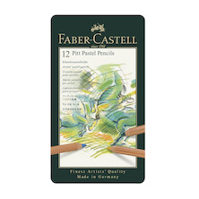 Faber-Castell Pitt Pastel Pencils Set of 12