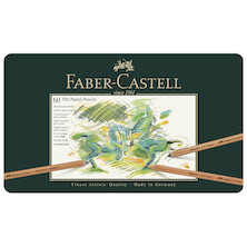 Faber-Castell Pitt Pastel Pencils Set of 60