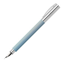 Faber-Castell Ambition OpArt Fountain Pen Sky Blue