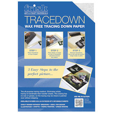 Frisk Tracedown A3 5 Sheets White