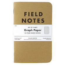 Field Notes Set of 3 Pocket Notebooks
