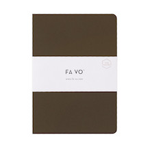 Fa Vo Notebook A5 Coffee