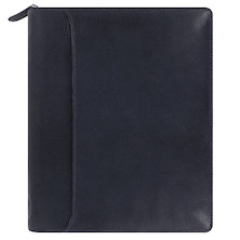 Filofax Lockwood Personal Organiser A5 Leather Navy