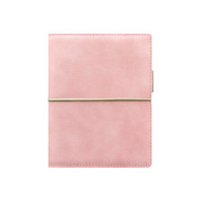Filofax Domino Pocket Organiser Soft Pale Pink