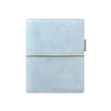 Filofax Domino Pocket Organiser Soft Pale Blue