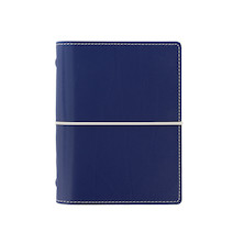 Filofax Domino Pocket Organiser Navy