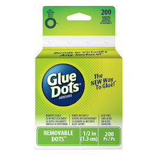 Glue Dots Removable Dots Roll (200 Dots)