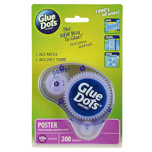 Glue Dots Poster Dots Dispenser (200 Dots)