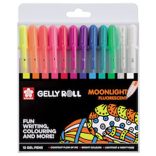 Gelly Roll Moonlight Set of 12
