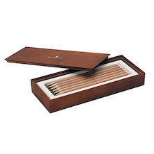 Graf von Faber-Castell Wooden Gift Box with 12 Pencils