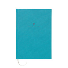 Graf von Faber-Castell Colours Linen Bound Notebook A5 Turquoise