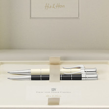 Graf von Faber-Castell Classic Anello His & Hers Ballpoint Pen Gift Set