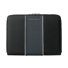 Hugo Boss Gear Conference Folder A5 Blue