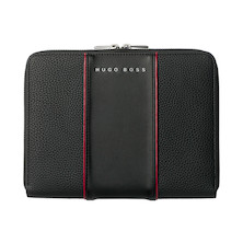 Hugo Boss Gear Conference Folder A5 Black
