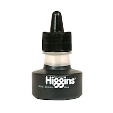 Higgins Black Drawing Ink
