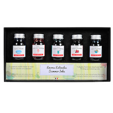 Herbin Seasons 5 Piece Assorted Ink Set Summer
