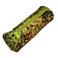 Helix Oxford Camo Pencil Case Green