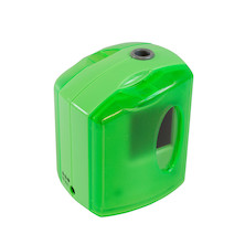 Jakar Battery Operated Pencil Sharpener Single Hole - Bright Colour