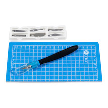 Jakar Cutting Mat A4 Folding with Craft Knife