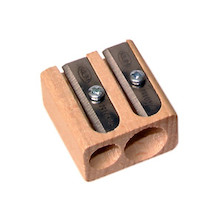KUM WoodCutter Wooden Block Double Sharpener