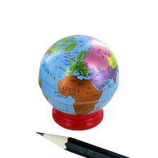 KUM Globus Metal Globe Pencil Sharpener