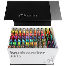 Karin Brushmarker PRO PLUS Mega Box of 72