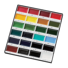 Kuretake Gansai Tambi Watercolour Paint Set of 24