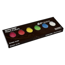 Kuretake Gansai Tambi Watercolour Paint Pearl Colours Set of 6
