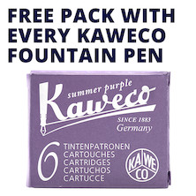 Kaweco Ink Cartridges Promotion