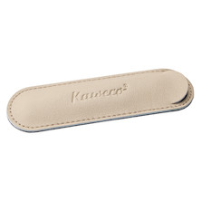Kaweco Eco Leather Pen Pouch for One Sport Pen Espresso