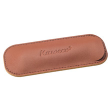 Kaweco Eco Leather Pen Pouch for Two Sport Pen Brandy
