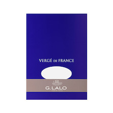 G Lalo Verge de France Writing Pad A5