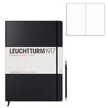 Leuchtturm1917 Hardcover Notebook Master Black