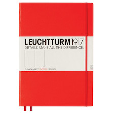 Leuchtturm1917 Hardcover Notebook Master Red