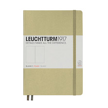 Leuchtturm1917 Hardcover Notebook Medium Sand