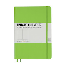 Leuchtturm1917 Hardcover Notebook Medium Lime